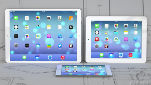 Images of rumored 12.9-inch Apple iPad Plus