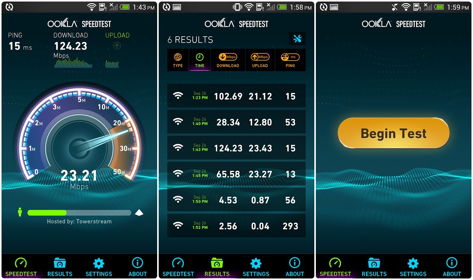 6 android netspeed apps to test your internet connection speed and speedtest stopboris Images