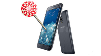 Android 5.0.1 Lollipop with TouchWiz on board leaks for the Samsung Galaxy Note Edge