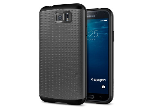 Supposed chassis of the Galaxy S6 and case renders