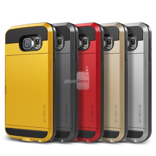 Galaxy S6 case renders