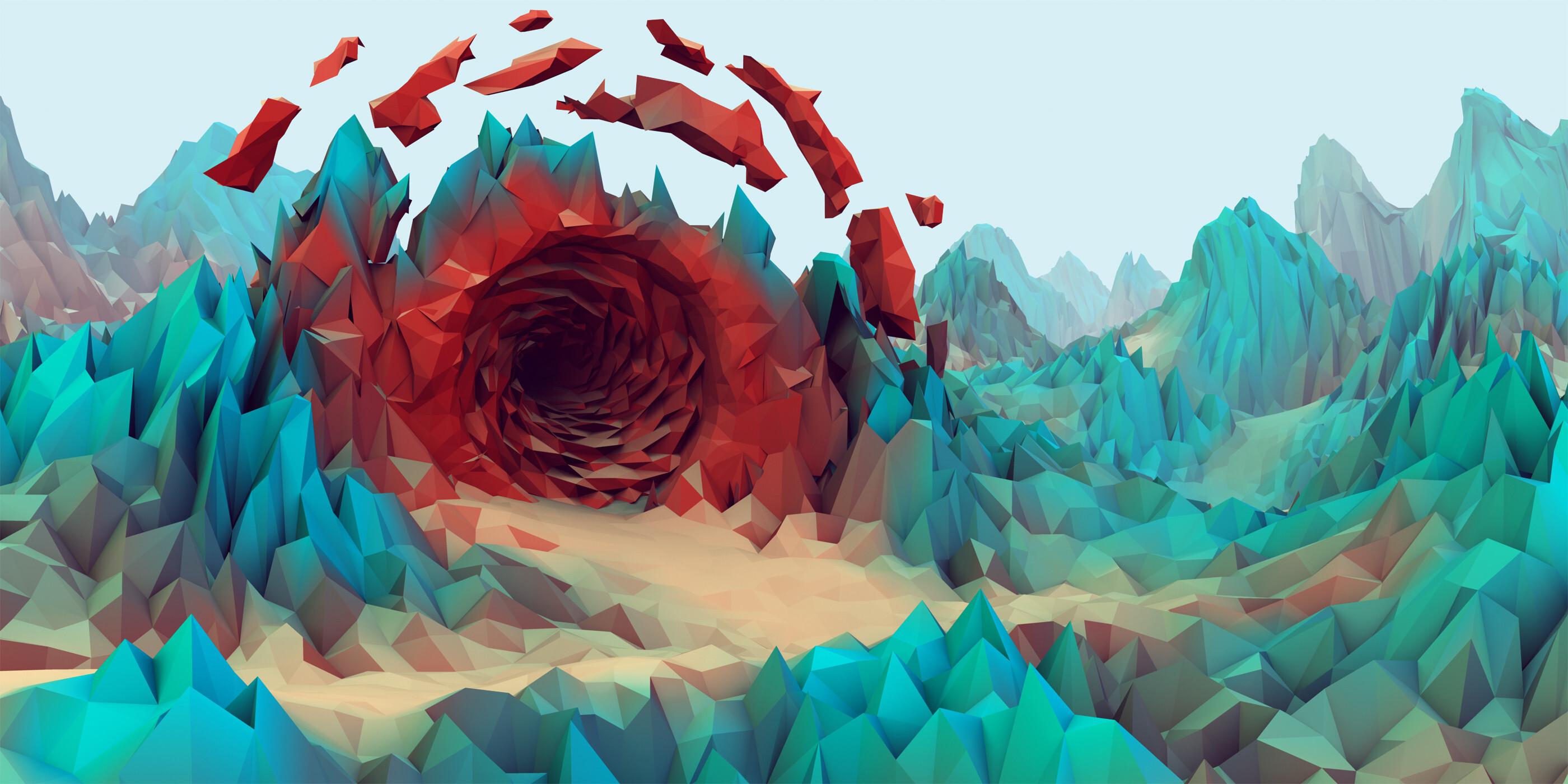 Third Low Poly Art Pubg: Rising Phoenix