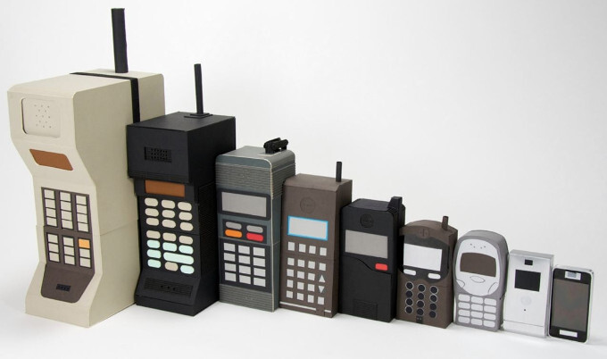 How it all began: Check out major manufacturers' very first phone devices