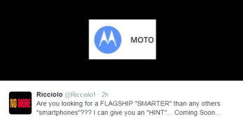 A 'smarter than smartphones' Motorola flagship hinted as coming soon
