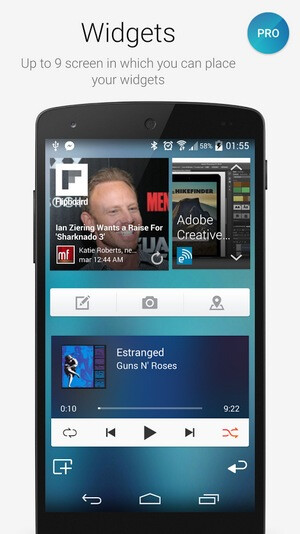 Smart Launcher 2 / Smart Launcher Pro 2 screenshots