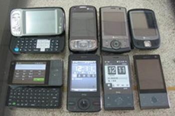 Upcoming HTC phones spy shot