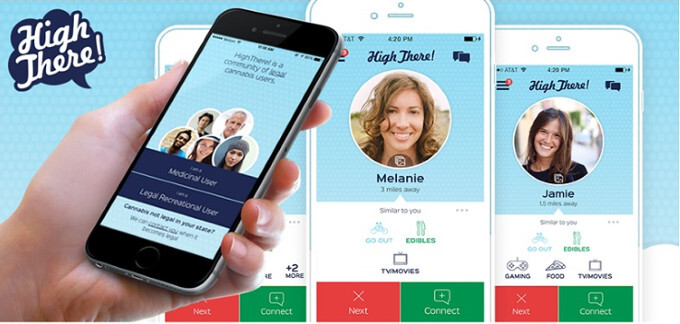 High There! is a new Android dating app for pot lovers and stoner encounters