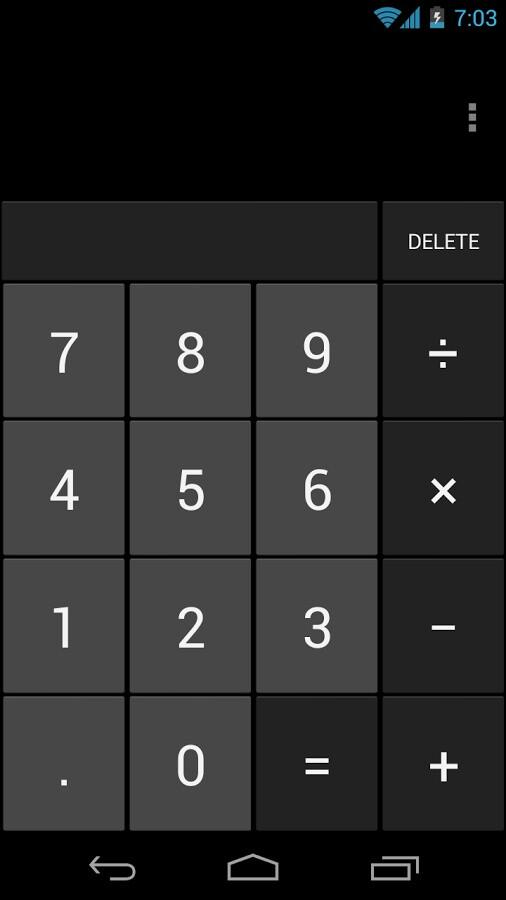 Private calculator android