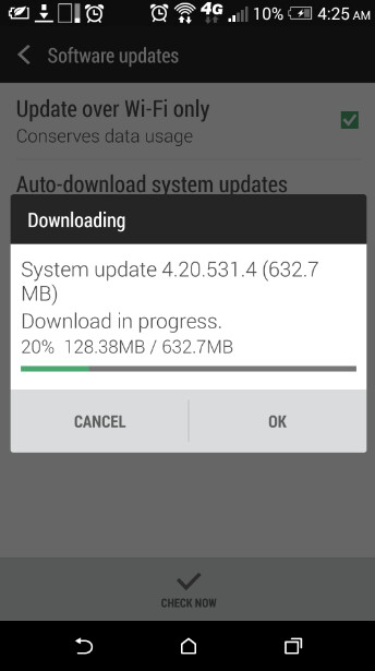 T-Mobile version of HTC One (M8) receives Android 5.0 - T-Mobile's HTC One (M8) receives Android 5.0 update