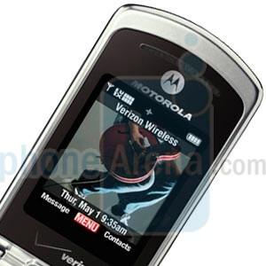Motorola W755 Gallery