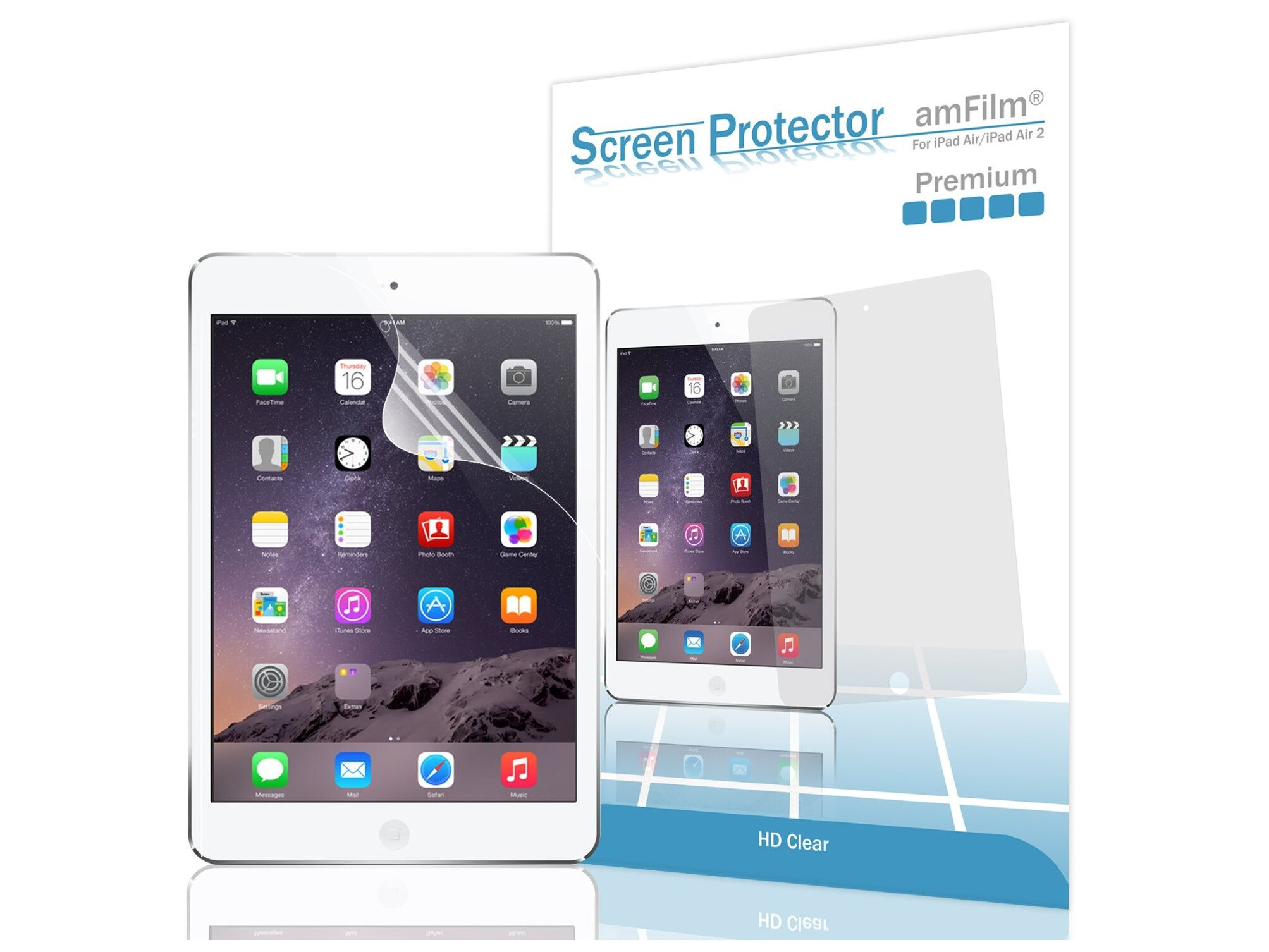 10 top of the line screen protectors for the apple ipad air 2. Black Bedroom Furniture Sets. Home Design Ideas