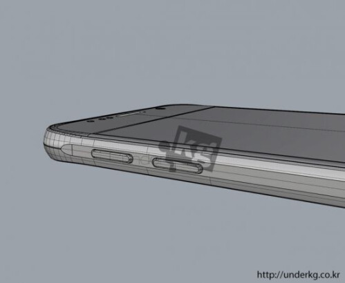 New renders show the Galaxy S6, compare it with the iPhone 6
