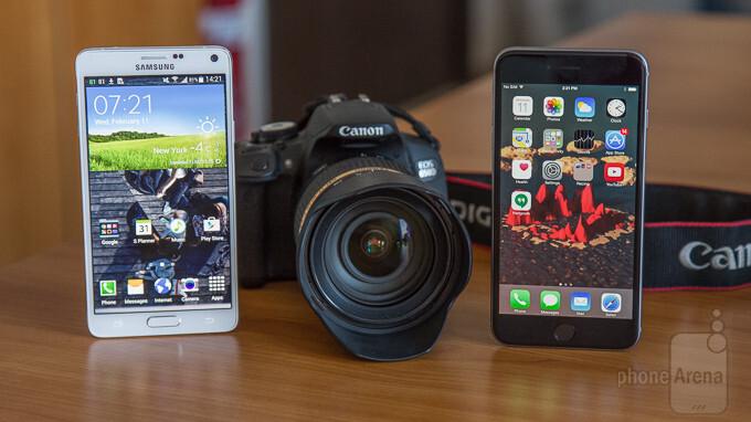 iPhone 6 Plus vs Samsung Galaxy Note 4 vs DSLR blind camera comparison: you choose the best camera