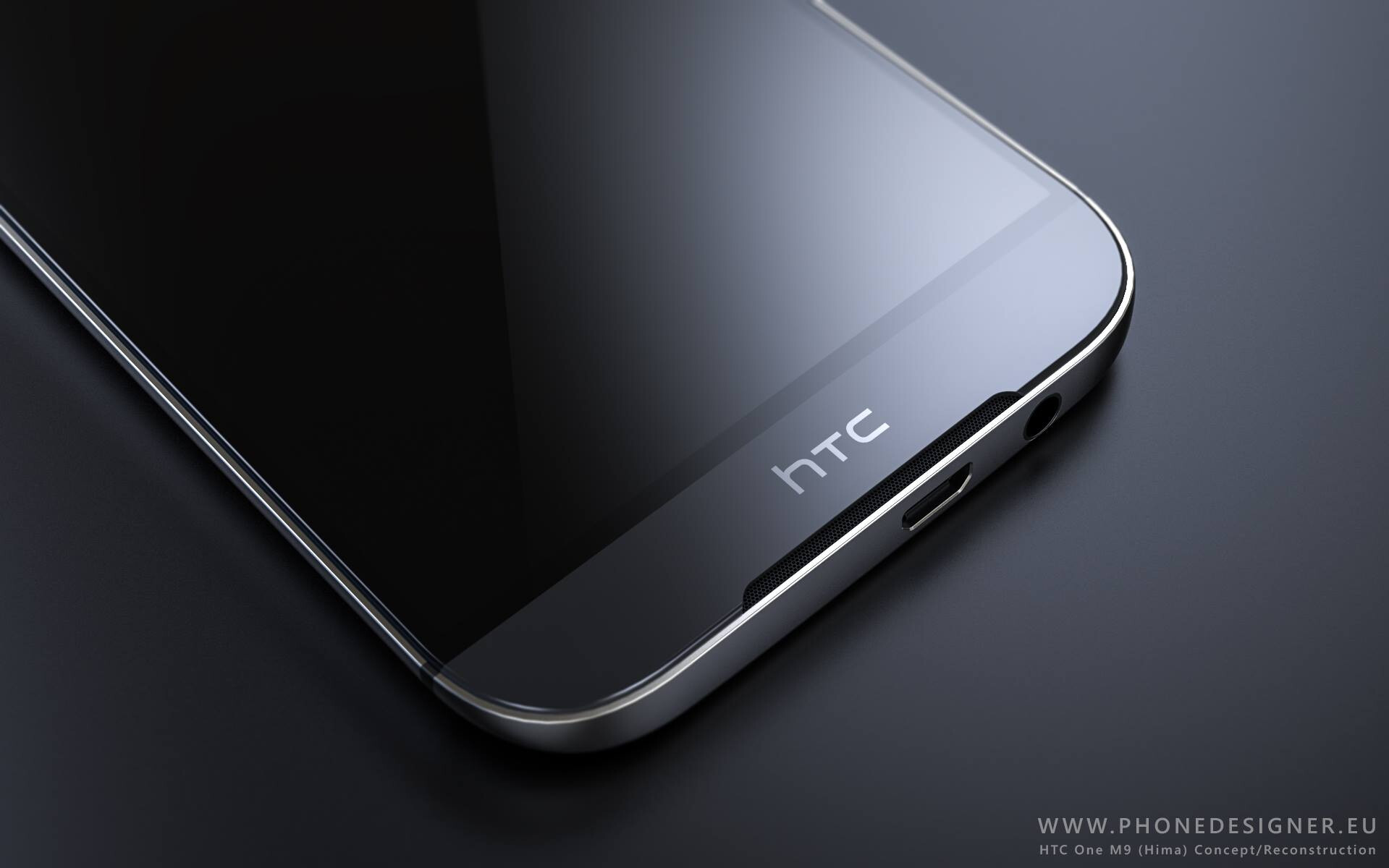 Sizzling new renders of the HTC One M9 pop up: the best ones weve.