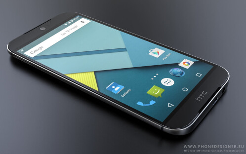 HTC One (M9) renders - this phone is on fire!