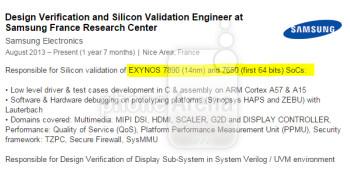 Samsung prepping a next generation 14nm Exynos 7890 chipset