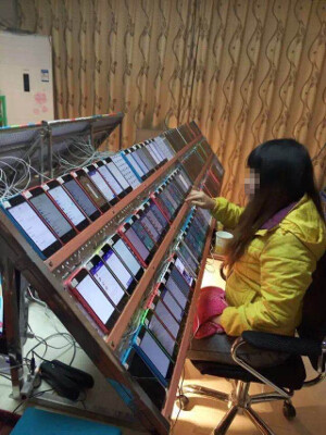 Photo supposedly showing how app ranks and downloads are being manipulated on iOS is going viral in China