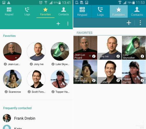 Dialer, Contacts, and Messaging