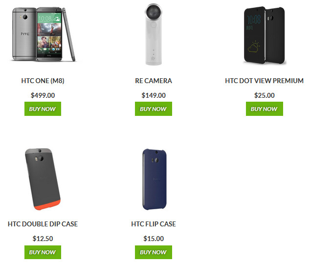 HTC is offering discounts on these products until Monday - Buy the HTC One (M8) for $150 off this weekend only, directly from HTC