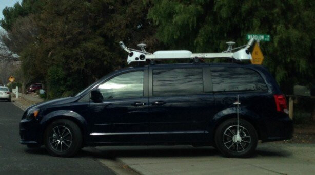 Apple-leased van with laser mapping and navigation equipment on the roof - Who killed the electric car? Not Apple, as it's working on a 'Titan' one