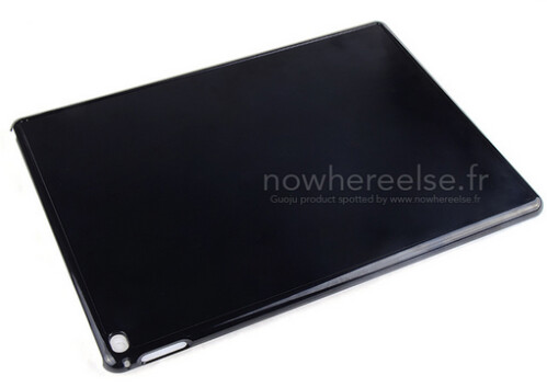 Leaked case confirms that a 12-inch Apple iPad is coming