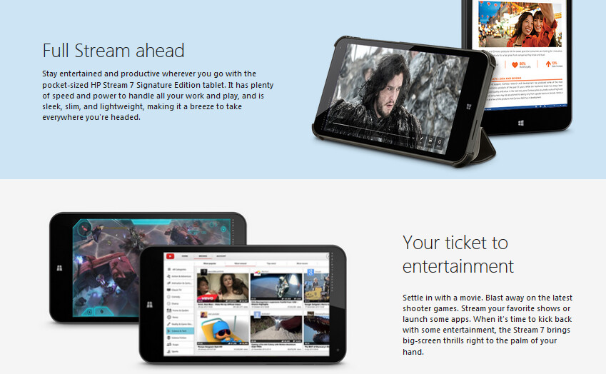 HP Stream 7 tablet deal available from Microsoft Store ...