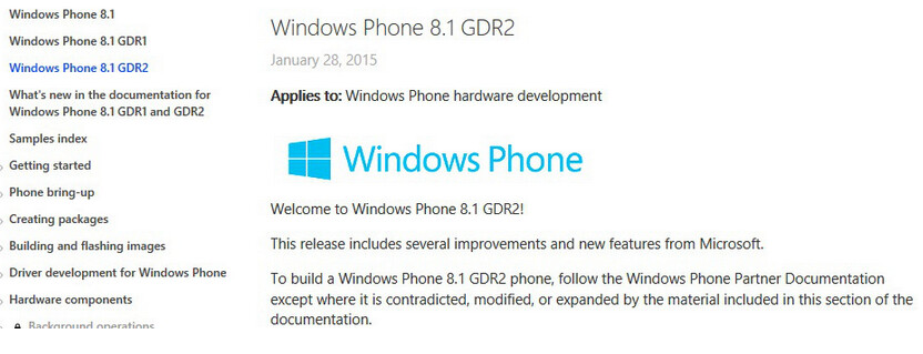 Windows Phone 8.1 GDR2 could be coming to Preview for Developers soon - Windows Phone 8.1 GDR2 could soon be sent out to those subscribed to Preview for Developers