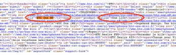 Source code from HTC's own website confirms name of the company's next flagship