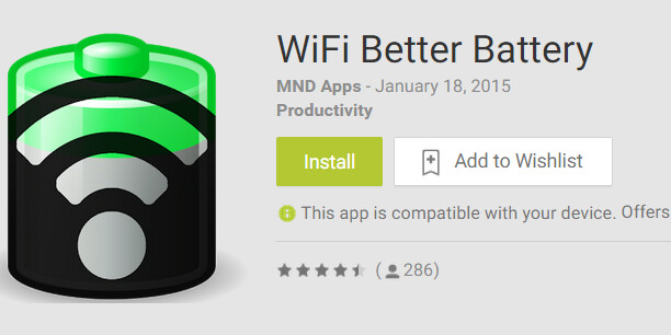 WiFi Better Battery uses a Google trick to keep your Android connected while saving battery life