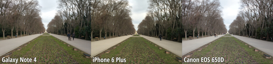 Side-by-side preview - Galaxy Note 4 dominates our blind camera comparison, beats a Canon DSLR and the iPhone 6 Plus