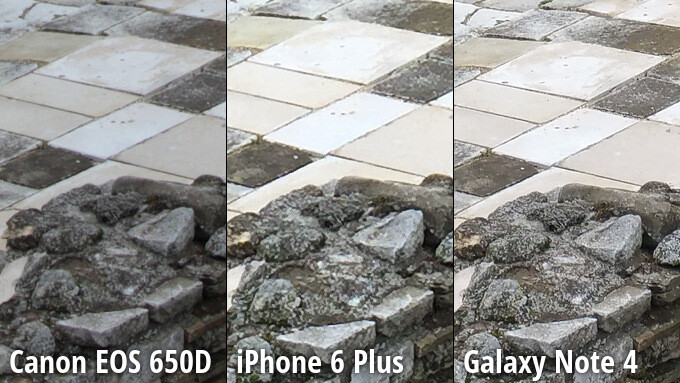 Close-up-view Camera Samsung Galaxy Note 4 verslaat iPhone 6 Plus en Canon DSLR in blinde vergelijking