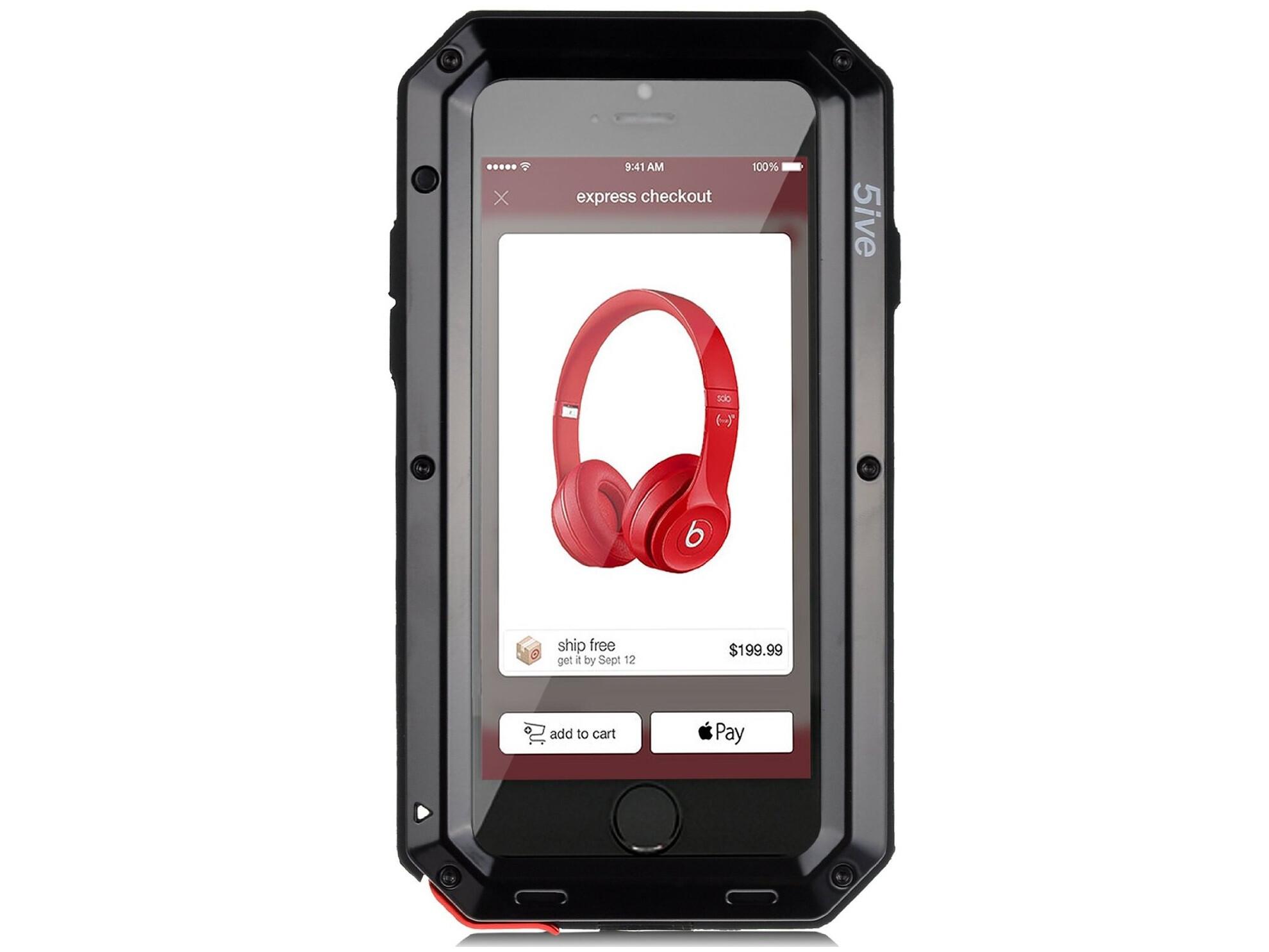 Wetsuit iPhone 6 Plus waterproof rugged case