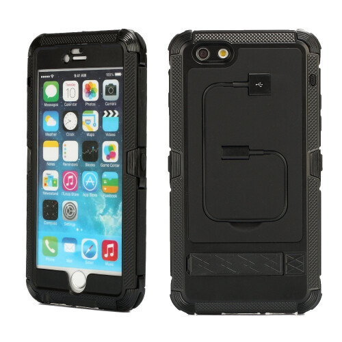 Merit™ iphone 6 Plus Case Shockproof Dustproof Weatherproof Limited Waterproof Case Military Heavy Duty Protection Hard Cover with Kickstand