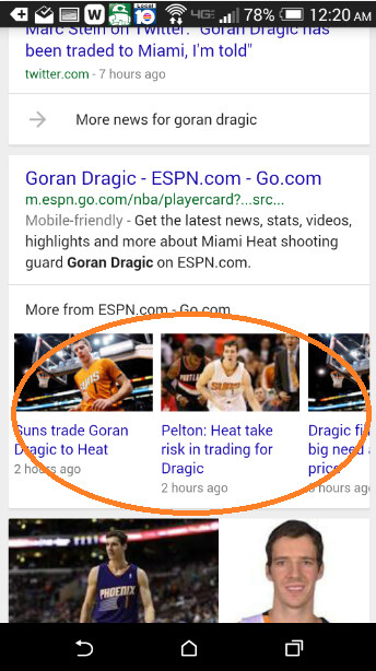 Google Search adds carousel - Google Search now offers a new carousel feature to help you quickly find stories and videos