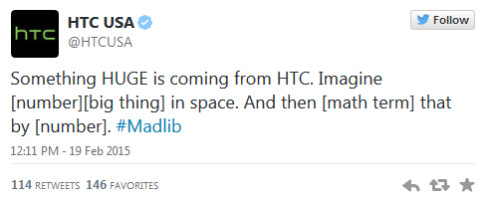 Is HTC telling us about the HTC One max 2 or the HTC One M9 Plus? - HTC tweet could mean that the HTC One max 2 is coming, not the HTC One M9 Plus