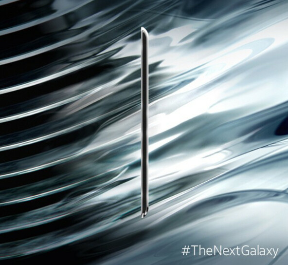 Samsung posts profile picture of Samsung Galaxy S6 on Instagram while confirming metal build - Image of sleek Samsung Galaxy S6 appears on Instagram, confirms metal build