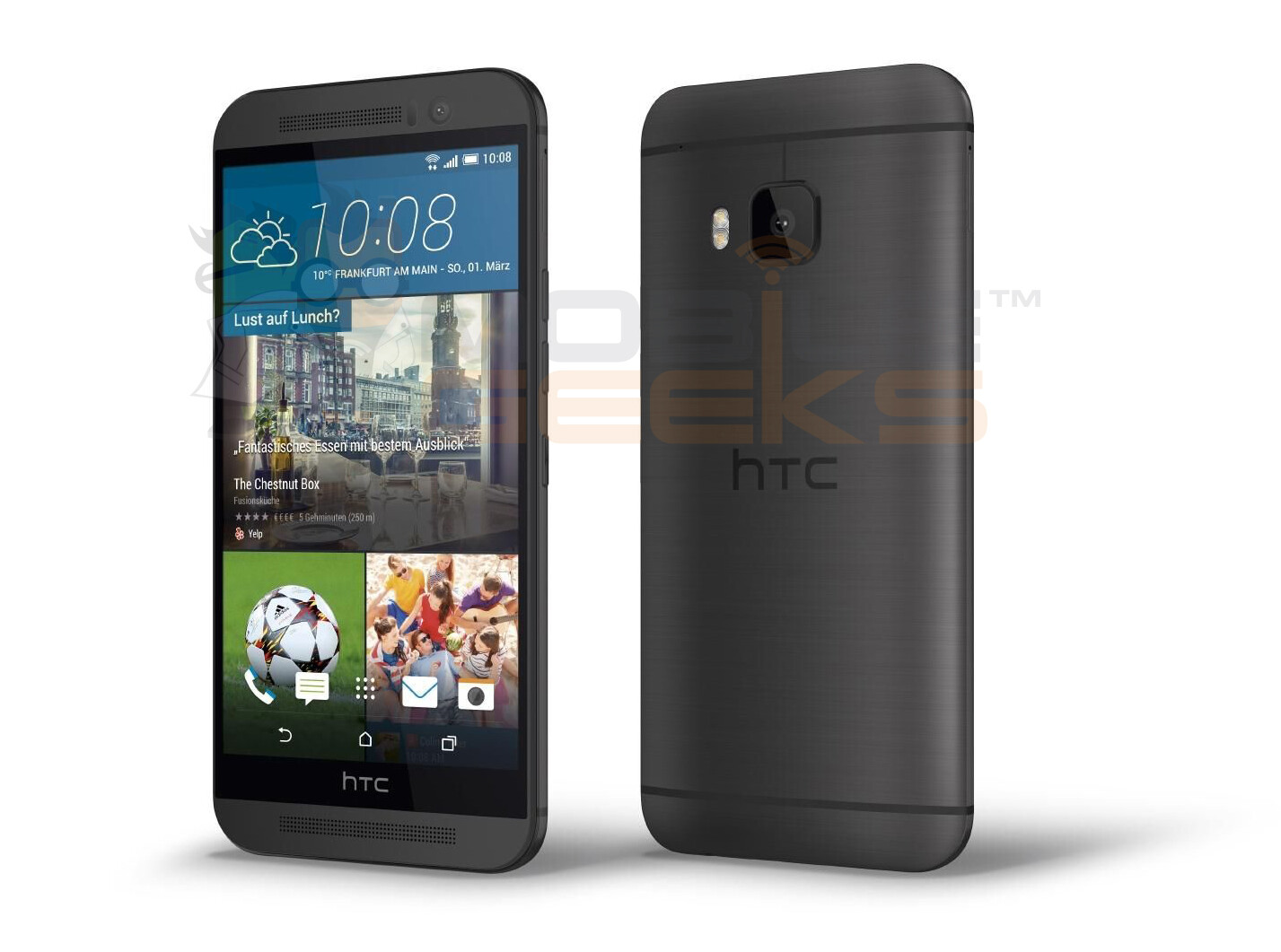 Official HTC One M9 renders, price, and (almost) full ...
