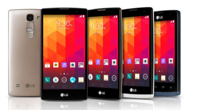 LG introduces four new mid-range Android handsets - LG introduces four new mid-range Android smartphones (UPDATE)