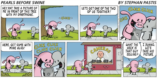 It's funny because it's true - The Sunday funnies once again provide us with some smartphone humor