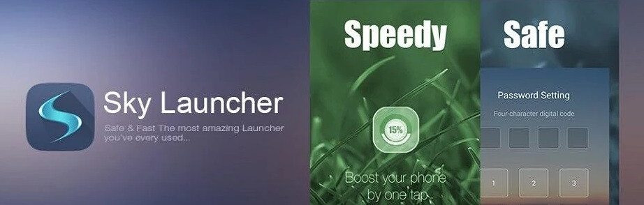 Spotlight: Sky Launcher optimizes the experience of using your smartphone