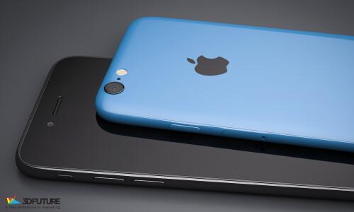 iPhone 6c concept renders