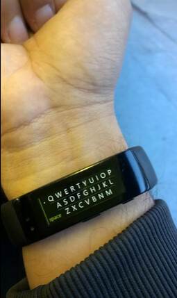 WordFlow, the swipe-to-type feature for Windows Phone, is now available for the Microsoft Band - Microsoft Band update adds WordFlow swipe-to-type keyboard