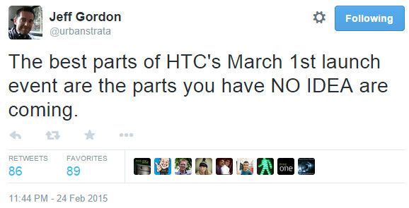 """HTC official says we have """"no idea"""" what's coming on March 1 at MWC"""