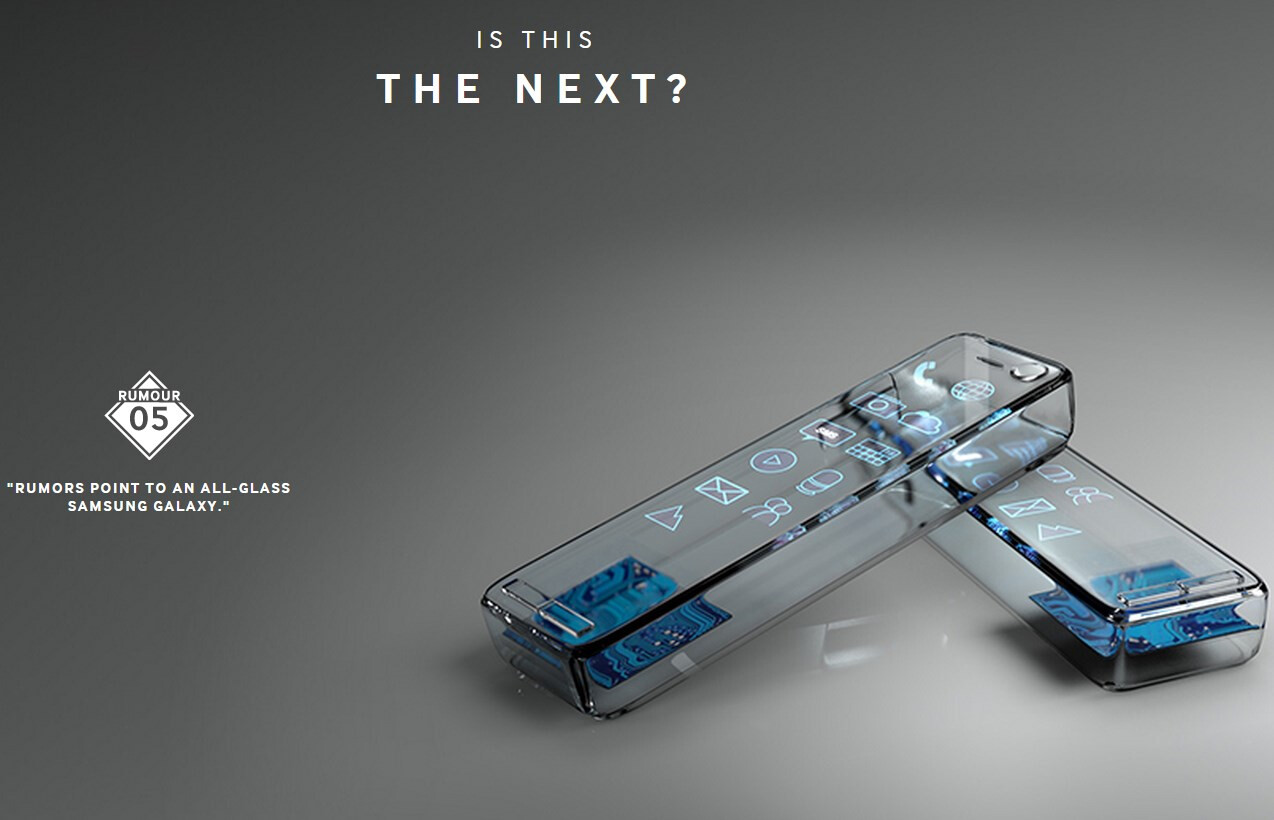 samsung norway hints at an all glass galaxy s6 see all their teasers here. Black Bedroom Furniture Sets. Home Design Ideas