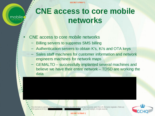 """Despite Gemalto's claims, GCHQ leaked slides show that spies believed they had access to their entire network - How NSA and GCHQ hacked world largest SIM card maker Gemalto: """"game over for cellular encryption"""""""