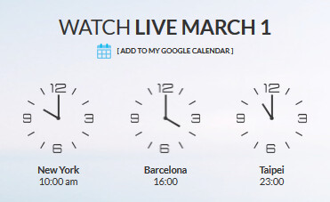 HTC's MWC event to start at 10am EST on Sunday - HTC event to begin 10 am EST March 1st; HTC One M9 and HTC One M9 Plus to be unveiled