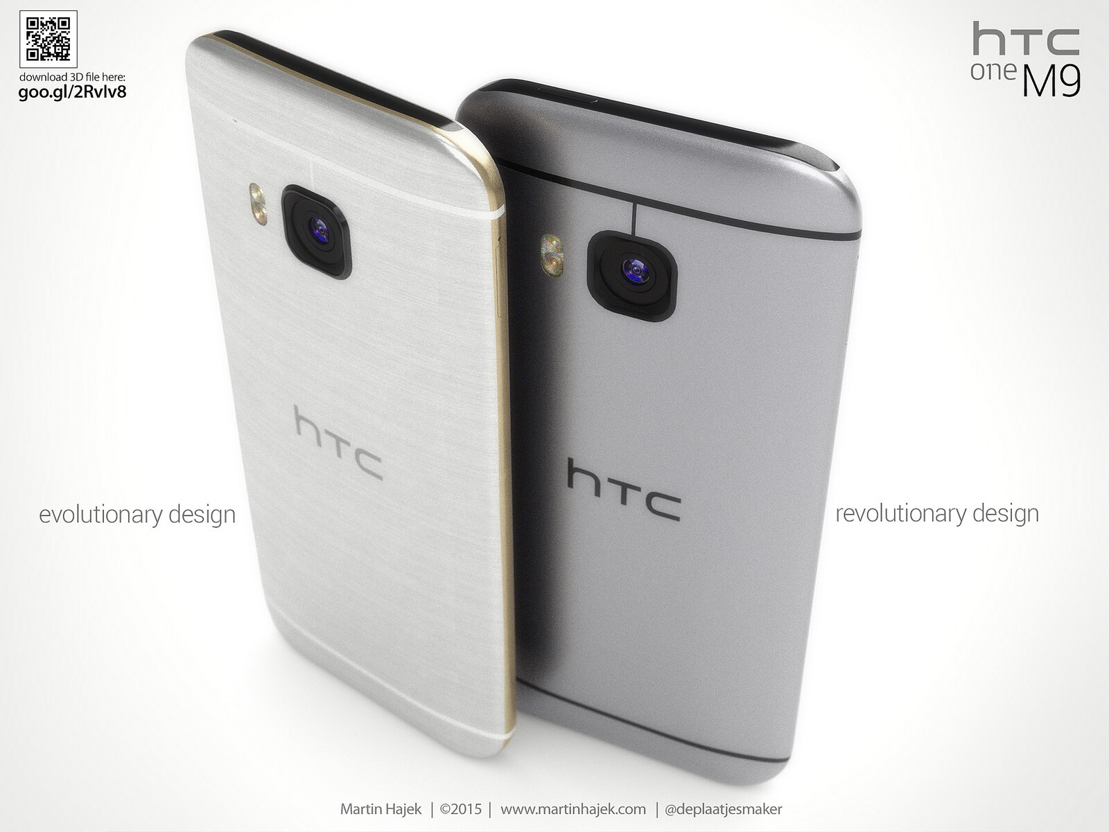 These gorgeous renders compare the HTC One M9's leaked ...