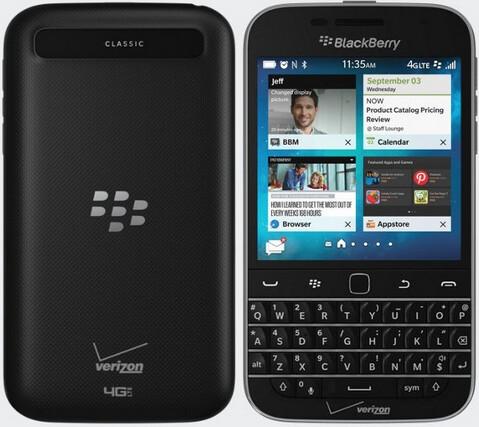 The BlackBerry Non Camera launches via Verizon on March 31st - BlackBerry Classic Non Camera can be pre-ordered now from Verizon