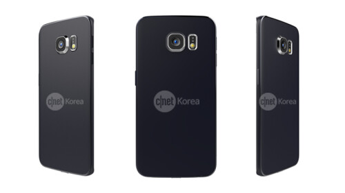 Samsung Galaxy S6 Edge alleged official renders