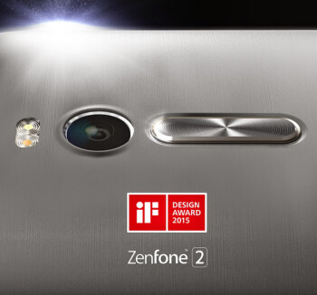 Asus ZenFone 2 wins the IF Design Award for 2015